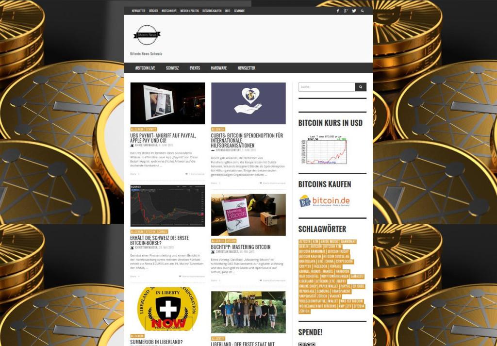 Schweizer Bitcoin Newsl