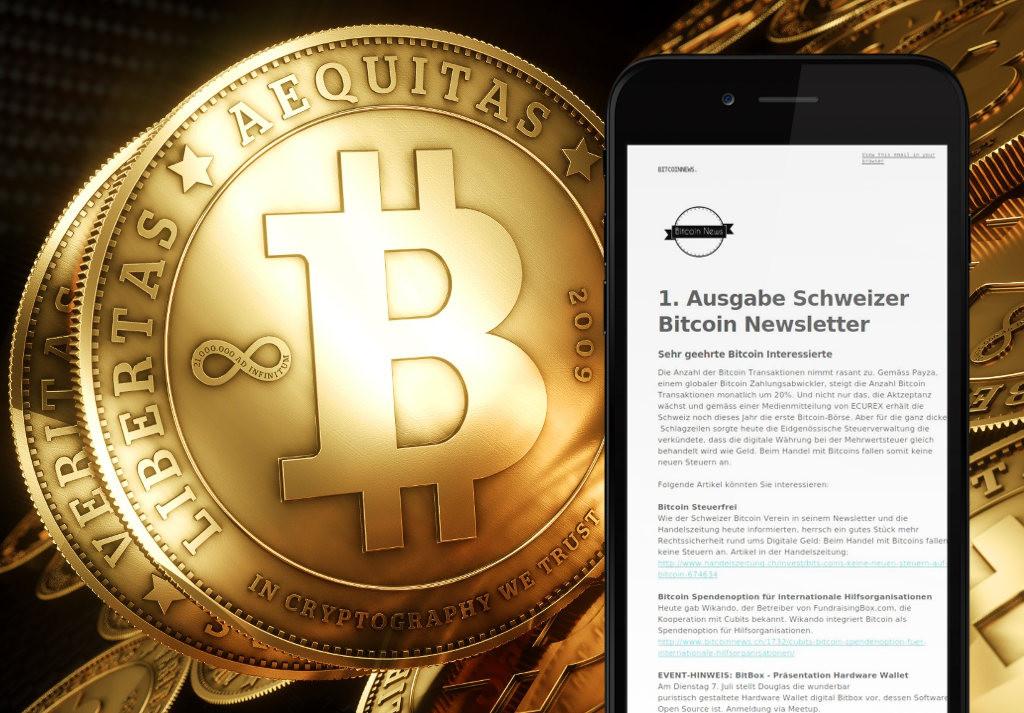 Schweizer Bitcoin Newsletter